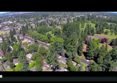 A Sunny Day in Lents